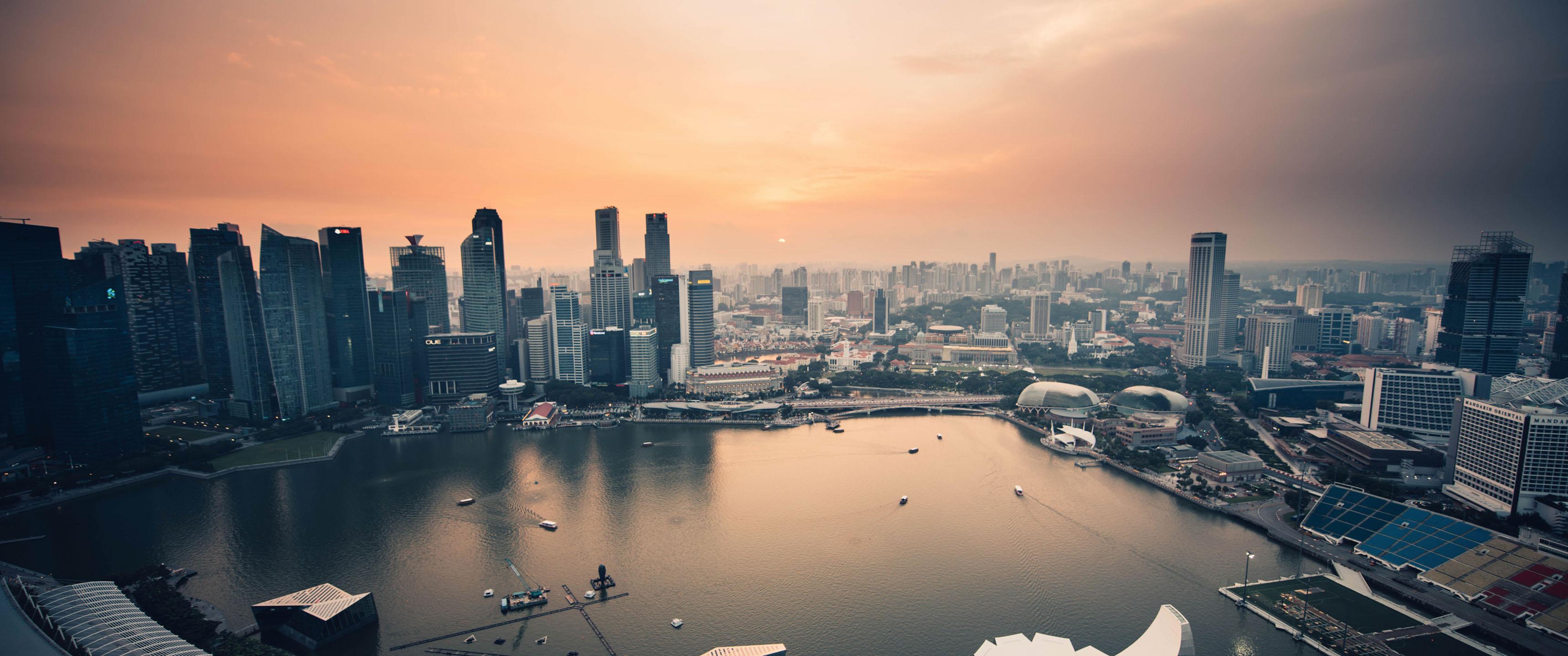 Singapore Marina 219 Wallpaper Ultrawide Monitor 219