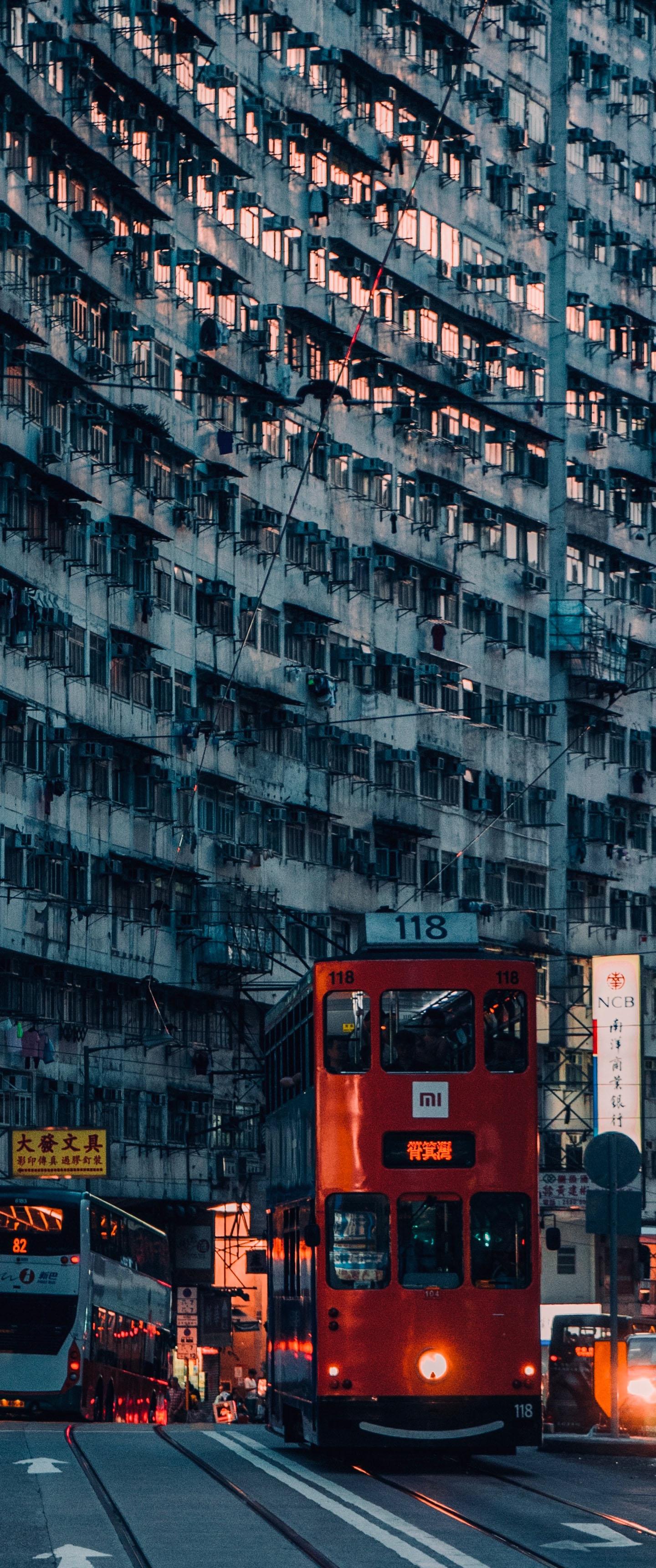 Hk City Life Vertical 21 9 Wallpaper Ultrawide Monitor 21